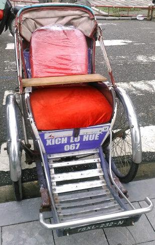 ベトナム観光のススメその1。シクロに乗ってみよう☆